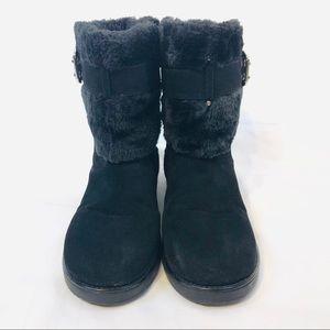Guess Shoes - Guess Aussie Faux Fur Boots